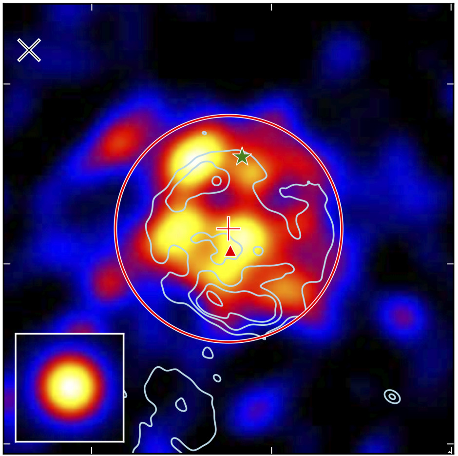 The Gamma-cygni SNR observed by Fermi. This image was created in pointlike and is from http://arxiv.org/abs/1207.0027.