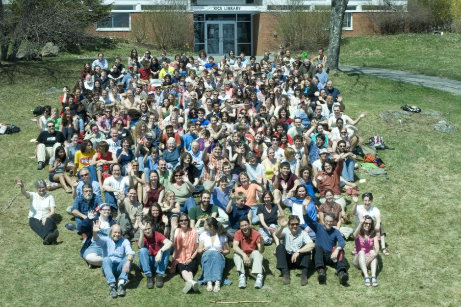 The Marlboro College 2008 Community Photo. I am on the very right three rows from the bottom.